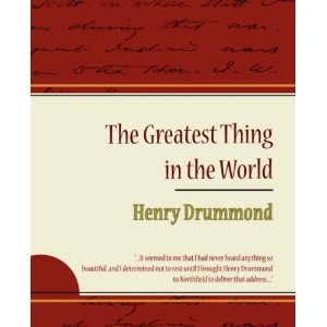 The Greatest Thing in the World Audio