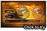 Free Meditation and Relaxation Timer